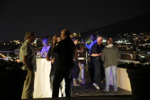 A beautiful evening in Barcelona t the Triton drinks reception