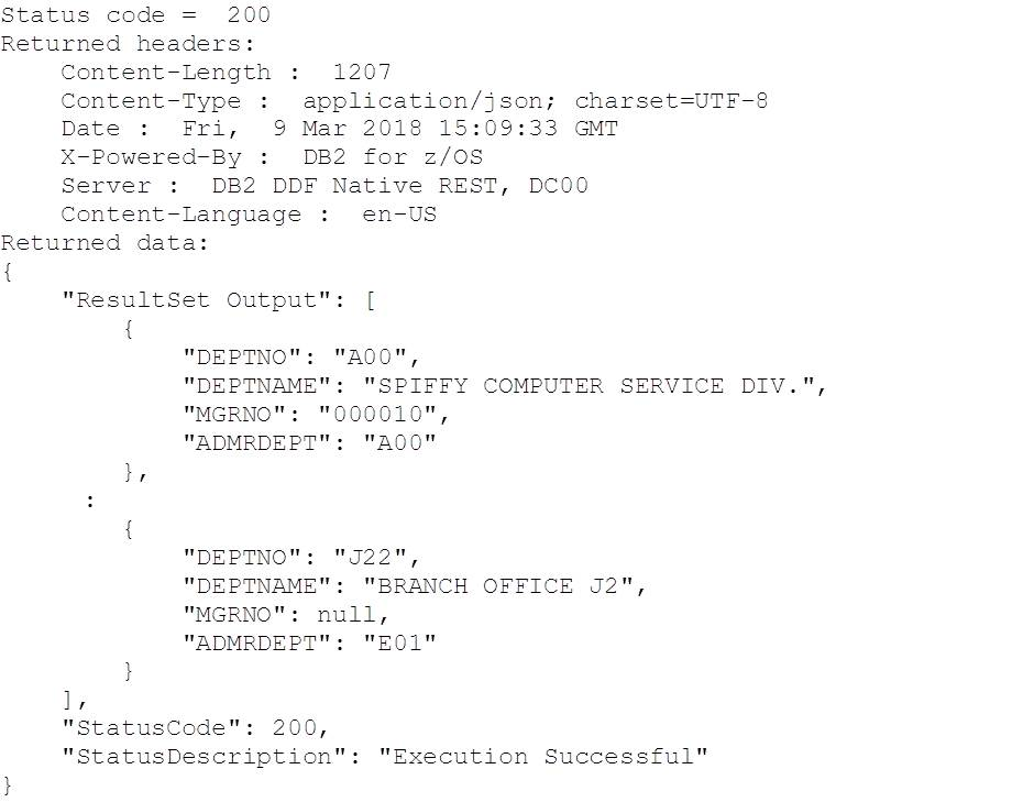 Confessions of a DB2 Geek | DB2 Native REST API - Python