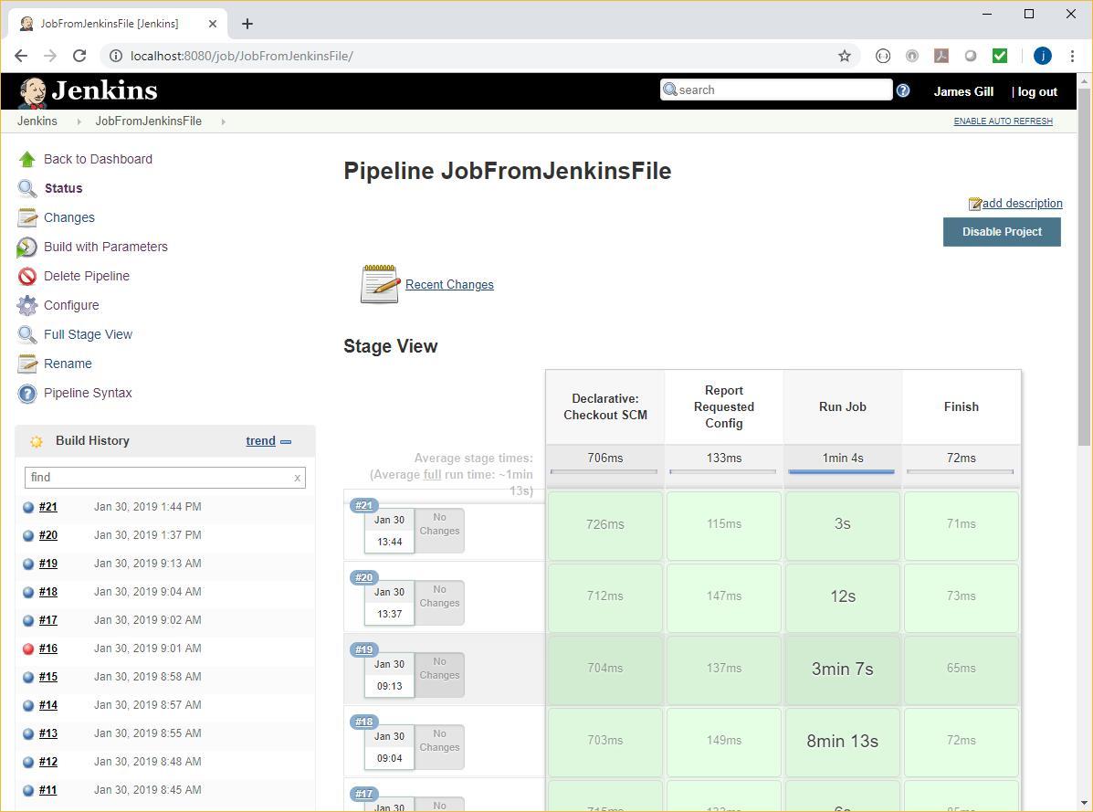 Pipeline Jenkins File DB2