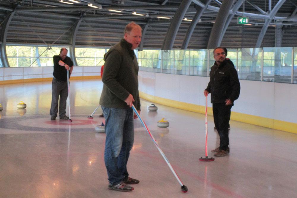 Iqbal Goralwalla Curling IDUG Rotterdam