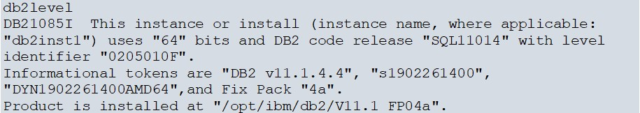 DB2 FixPack Installation on AWS Linux image 9