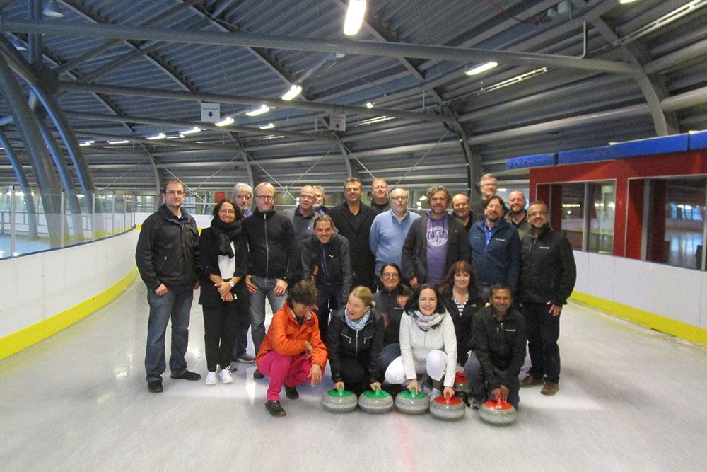 IDUG EMEA Team Building Curling
