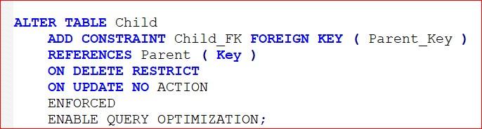 Foreign Keys Blog Alter Table Mark Gillis