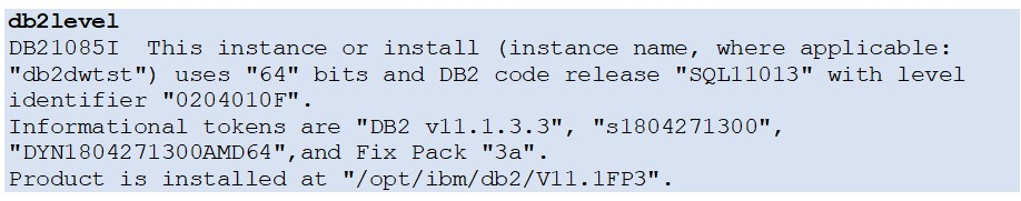 Db2 Level AWS S3