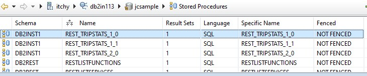 new stored procedure database